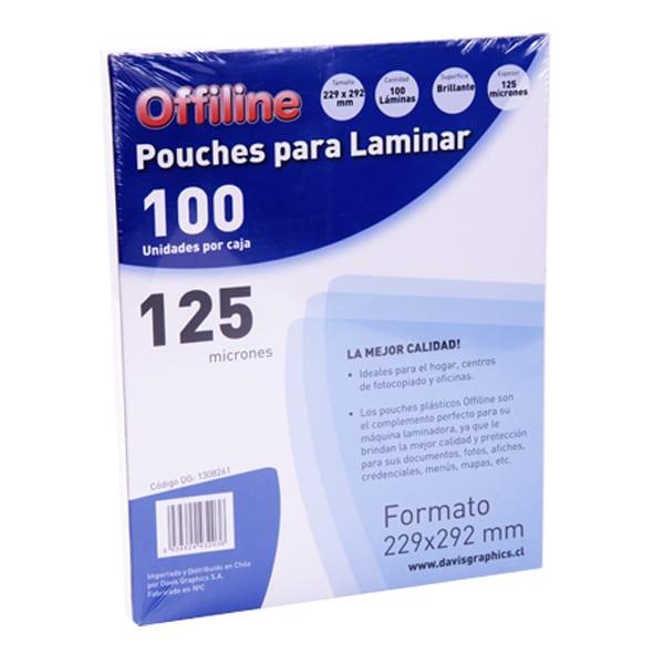 Pouches 229x292mm 125mic 100u
