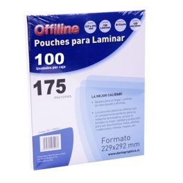 Pouches 229x292mm 175mic 100u