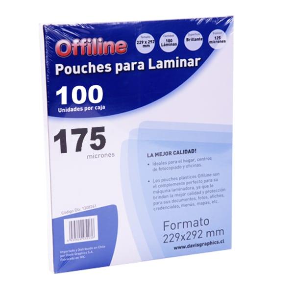 Pouches 229x292mm 175mic 100u