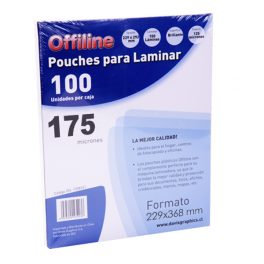 Pouches 229x368mm 175mic 100u